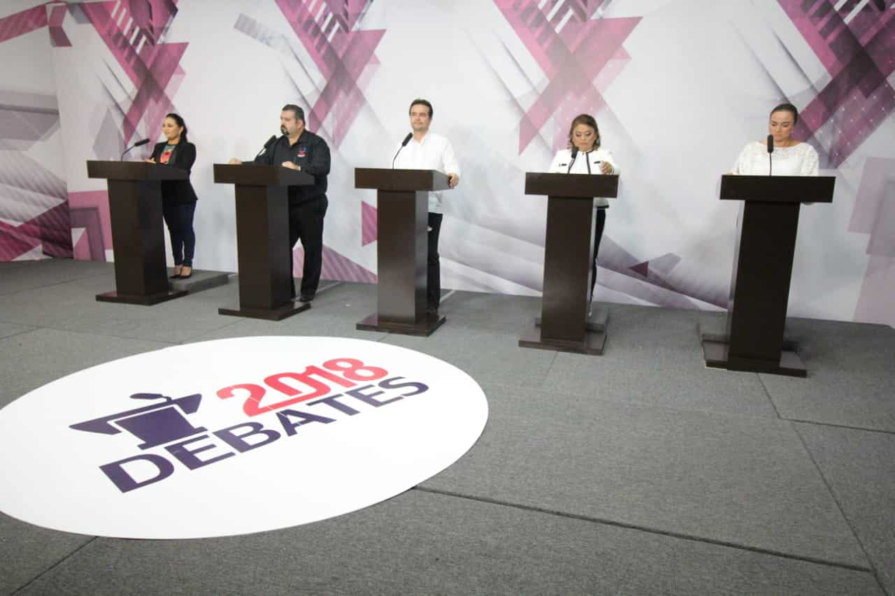 Milagro, Perla Tun guardó compostura en el debate