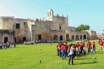 Chiquitines de la tierra de los Itzaes participan en Rally de la Oca