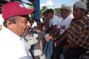 En mi gobierno el diezmo será para medicamentos, no para amasar riquezas: Rivelino Valdivia