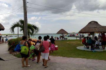 En aumento afluencia de visitantes en el Pueblo Mágico Bacalar