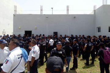 Estalla conflicto entre autoridades y policías de Solidaridad
