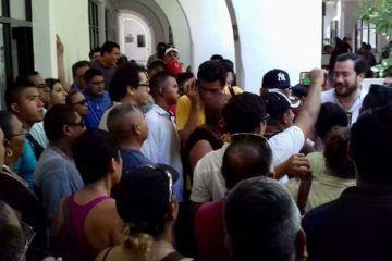Inconformidad de policías aún en diálogo, admite secretario del Ayuntamiento de Benito Juárez