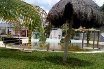 """En total abandono se encuentra el parque integral acuático """"El Manatí"""""""