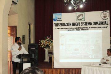 Presentan nuevo sistema de expedición de recibos y facturas Agua Potable del Municipio de Valladolid