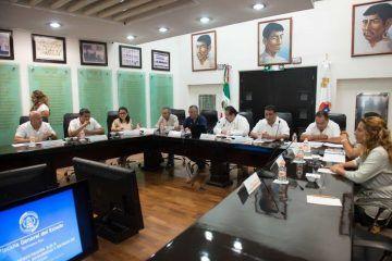 Reciben legisladores al Fiscal General del Estado en reunión de trabajo