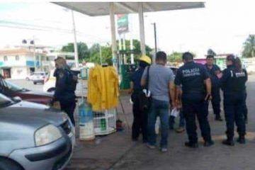Asaltan gasolinera de Chetumal; se llevan $400 mil