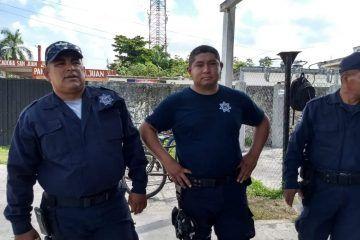 Aunque ya laboran, persisten inconformidades en policías de Carrillo Puerto