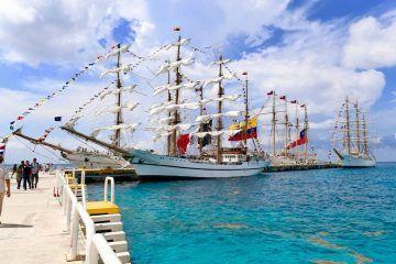 Cozumel es reconocido como uno de los puertos más importante de América Latina