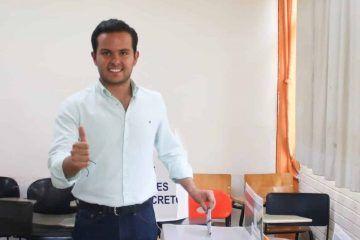 PVEM sufrió un desgaste: Luis Pablo Bustamante