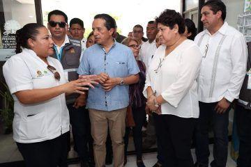 Realiza Carlos Joaquín recorrido por el Hospital General de Playa del Carmen