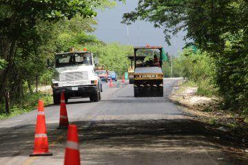 Beneplácito por rehabilitación; la carretera ya se encontraba en malas condiciones