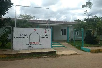 """Con carencias casa comunitaria del niño indígena """"Itzamna"""" continúa trabajando"""