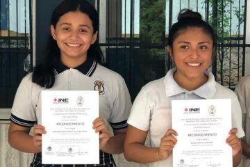 Arrasa en elección estudiantil avalada por el INE