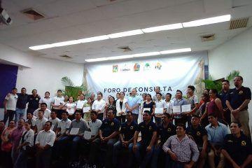 Segundo foro de consulta que se realizará el próximo 21 de septiembre en la alcaldía de Tihosuco