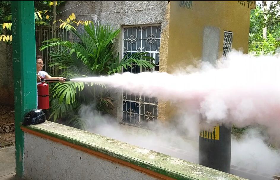 Protección civil lleva a cabo simulacro en estancia infantil de la ciudad
