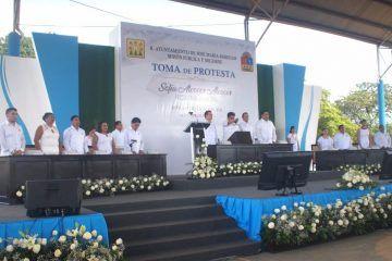 Sofía Alcocer Alcocer al frente de la presidencia de José María Morelos