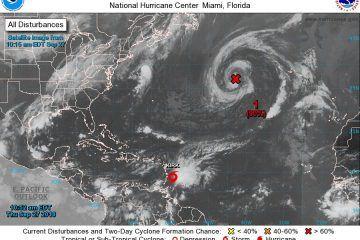 """Monitorea COEPROC la tormenta tropical """"Kirk"""""""