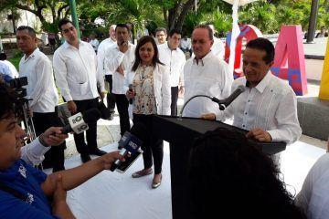 No se militariza al estado porque el esquema es más de Policía: Carlos Joaquín
