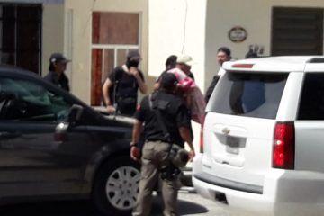 Cateo en La Joya concluye con dos detenidos