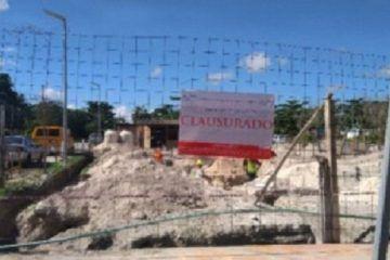 Clausura Profepa construcción de hotel en Holbox