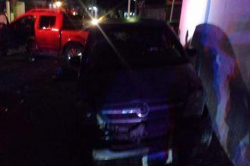 Fuertes daños en choque vehicular en Chetumal