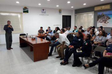 Profesionalizan a burócratas en Tulum