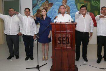 Presentan a primeros cinco directores de Enlace estatal en municipios