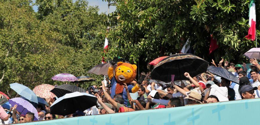 ##FOTOS## México emociona a los chetumaleños con su triunfo