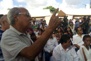 Ciudadano interrumpe a Mara Lezama en pleno evento