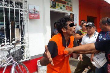 Atrapan a ladrón de deportistas en Cozumel