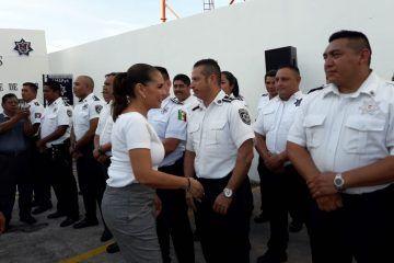 Hay que empoderar, dignificar y escuchar a los policías: Mara Lezama