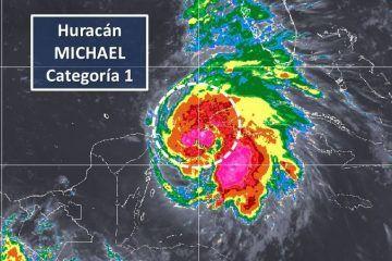 """""""Michael"""" ya es huracán categoría 1"""