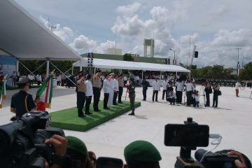 Quintana Roo merece tener paz y seguridad: Peña Nieto