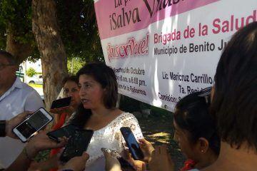 Deja plantadas delegado del IMSS a regidora y mujeres