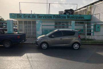 Ex yerno del presidente municipal de Othón P. Blanco en la Dirección de Servicios Públicos Municipales