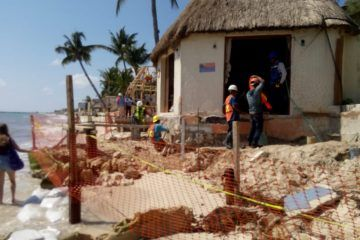 Verificarán al hotel Mahekal por presunto vertido de cemento