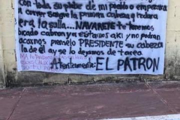 Amenazan a presidente municipal de Lázaro Cárdenas