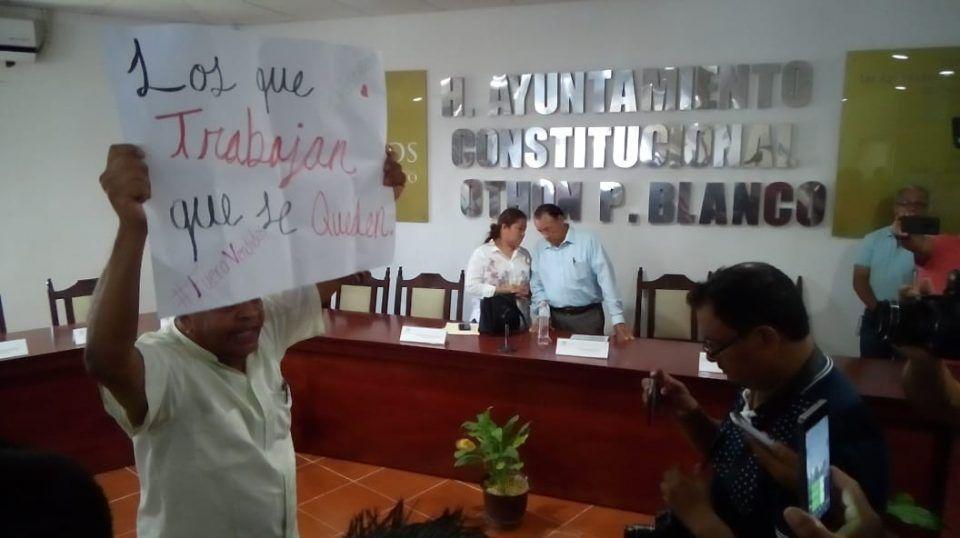 """Sesión de """"Mercado"""" en Palacio Municipal"""