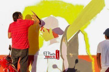 Pintoresca y atractiva imagen en espacios; jóvenes plasman imaginación y talento