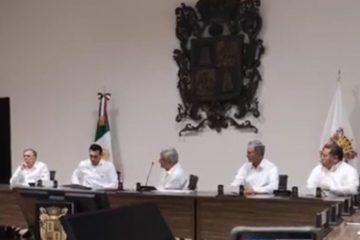 Detalla Obrador y gobernadores proyecto del Tren Maya