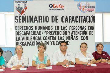 Personas en situación de discapacidad están siendo una prioridad en Valladolid