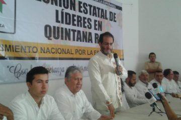 Carlos Joaquín debe trabajar en coordinación con AMLO: Bejarano