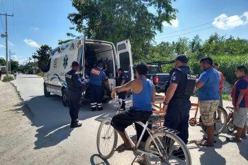 """Machetean a invasor en """"las Torres"""" de Playa del Carmen"""