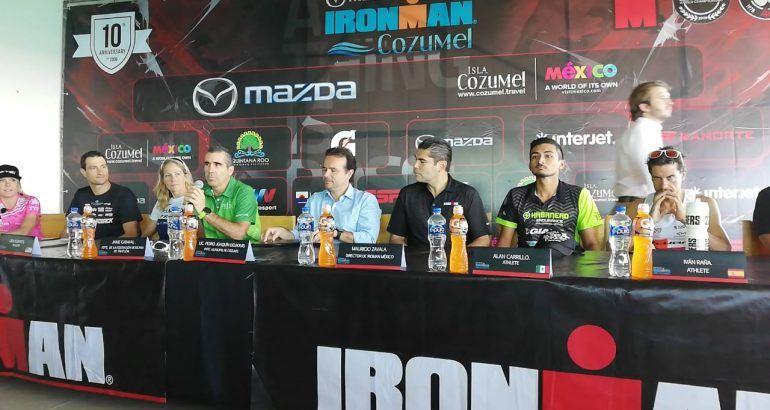 Cozumel alista Ironman 2018