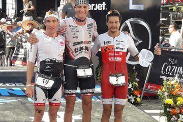 Michael Weiss hace historia; gana por tercera vez un Ironman en Cozumel