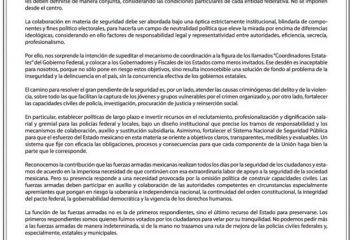 """Se """"rebelan"""" gobernadores panistas ante propuesta de AMLO"""