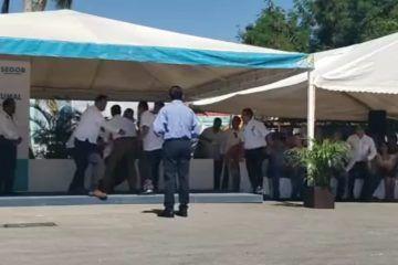 Y que se nos desmaya Hernán Pastrana Presidente municipal de OPB