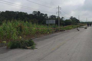 Triple ejecución en frontera con Campeche