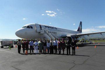El Aeropuerto Internacional de Tepic inaugura vuelo a CDMX