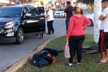 Atropellan a una mujer en Chetumal
